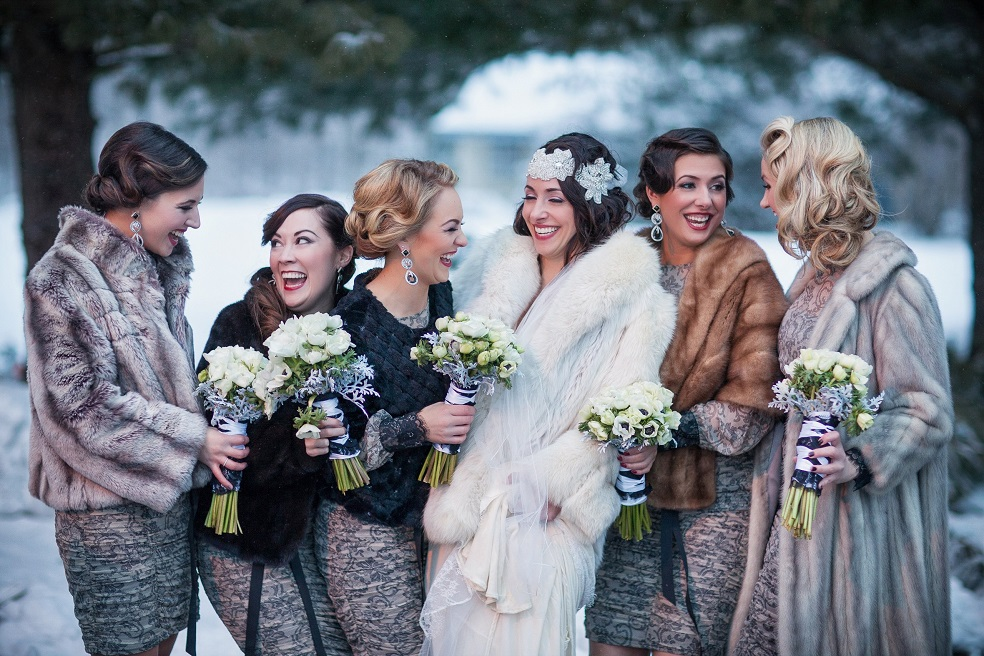 dressing for winter wedding